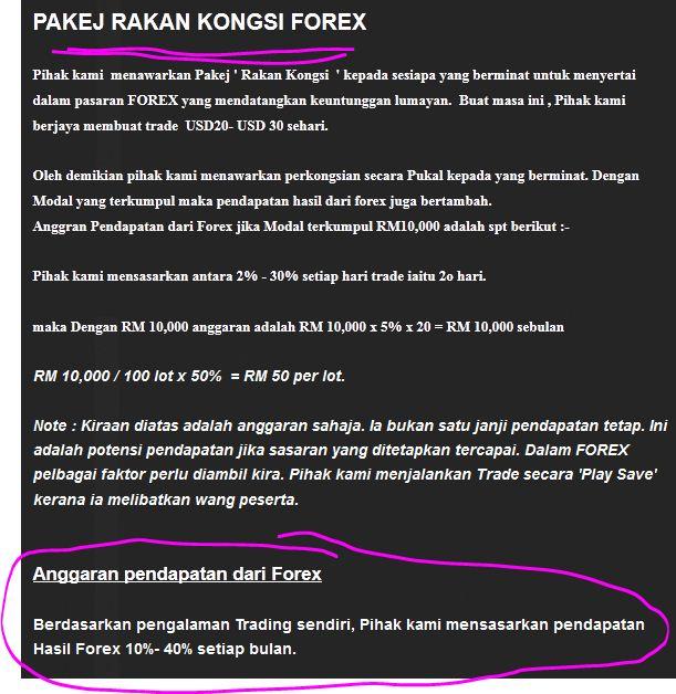 Trading forex bikin kaya